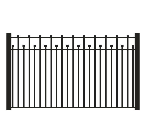 Aluminum Fence Icon