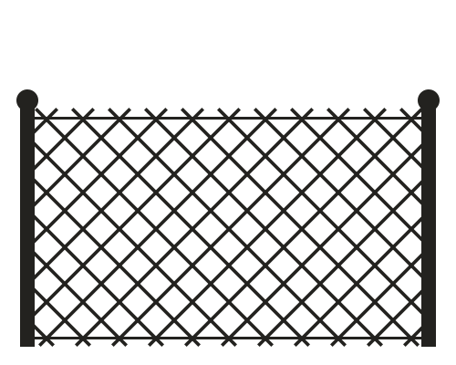 Chain Link Fence Icon