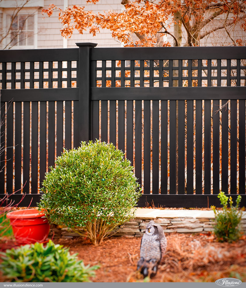 vinyl fence installed by professional fence contractors