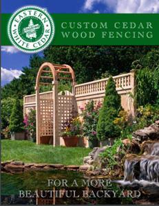Eastern White Cedar Fencing Brochure