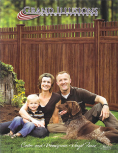 Grand Illusions Brochure with Family & Dog